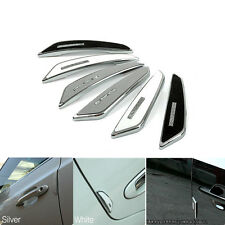 Universal 4x Car Door Edge Guard Strip Scratch Protector Anti-collision Trim