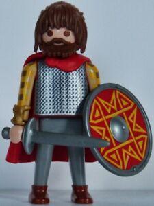 Playmobil romain - gaulois - celte - germain - barbare - guerrier #22 - custom