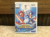 Mario & Sonic at the Olympic Winter Games (Wii, 2009) *DISC ONLY READ* Tested #3