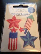 Doodlebug Designs Doodle Pops Fire Cracker 3D Sticker!