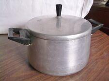RARE Vintage PANEX Cast Aluminum Sauce Pan & Lid, Maxim's, Made in Brazil