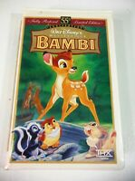 Bambi (VHS) Walt Disney's 55th Anniversary Limited Edition Clam Shell
