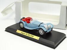Solido 1/43 - Jaguar SS 100 1938 Bleue