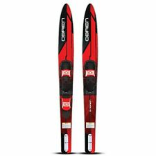 """New O'Brien Reactor 67"""" Combo Waterskis with 4.5-13 700 Bindings - 2211128"""