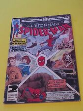 1977 SPIDER-MAN #97-98 RARE FRENCH CANADA HÉRITAGE VARIANT LE CHAT NOIR STAN LEE