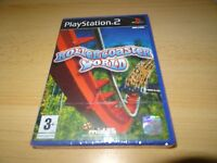 Rollercoaster World - PlayStation 2 PS2 - New  Sealed uk pal