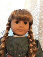American Girl Doll Kirsten in Meet Dress and Apron