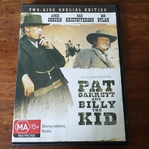 Pat Garrett and Billy the Kid DVD R4 Like New! FREE POST