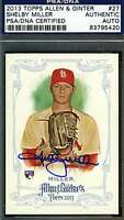 Shelby Miller Psa/dna Signed 2013 Topps Authenticated Autograph