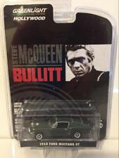 Steve McQueen Bullitt 1968 Ford Mustang GT Greenlight 1:64 Scale New