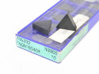 NEW SURPLUS 10PCS. SUMITOMO  TNG  332  GRADE: NB90S  CERAMIC INSERTS