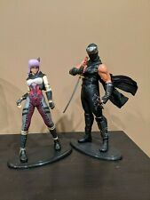 Ninja Gaiden Lot of 2: Ryu Hayabusa and Ayane Kotobukiya PVC Statues 1/6