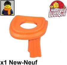 Lego - 1x body wear Scarf Long Wrapped écharpe orange 25376 NEUF