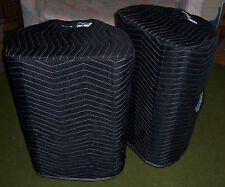 CARVIN PM153 PM 153 Padded Premium Black COVERS (2) - Quantity of 1 = 1 Pair!