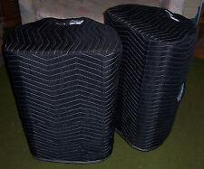 CARVIN PM153 PM 153 Padded Premium Black COVERS (2) - Quantity of 1 = 1 Pair!