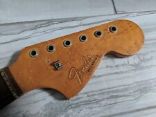1966 1967 Fender Musicmaster II guitar neck birdseye rosewood