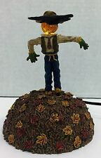 "Department 56 Halloween Village ""I've Got My Eye On You"" Scarecrow Animated"