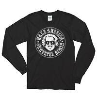 Grateful Dead _Jerry Garcia Make America Grateful Again Screen LSPrinted T-shirt