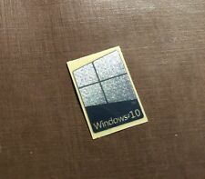 1 PCS Windows 10 Chrome Badge Logo Decal Metal Sticker 16mm x 23mm USA Seller