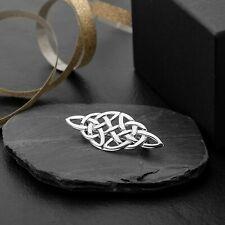 Sterling Silber keltische Brosche