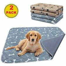 AK KYC Large Puppy Training Pads (80x90cm) 2 Pack Machine Washable Pee Pads for