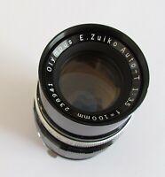 Olympus PEN F E.Zuiko Auto-T Zuiko 100 mm f/3.5 Lens