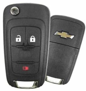 NEW Chevrolet Spark 2016-2017 3 Button Flip Key OHT01060512 TOP Quality A+++
