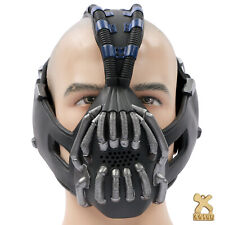 Xcoser Bane Máscara versión actualizada el caballero de la noche asciende Halloween Casco Comic