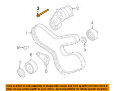 BMW OEM 11-16 535i xDrive 3.0L-L6 Pulley-Belt Tensioner Bolt 07129906293