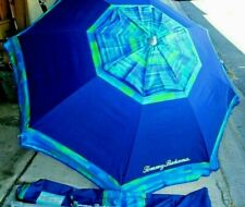 TOMMY BAHAMA 7' BEACH UMBRELLA UV PROTECTION EXCELLENT CONDITION!
