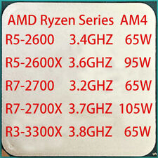 AMD Ryzen R5-2600 R5-2600X R7-2700 R7-2700X R3-3300X Socket AM4 16M High-end CPU