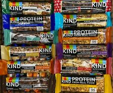 KIND BARS - Plus - Protein - Nuts + Spices ~ Fruit ~ 100 ASSORTED BARS