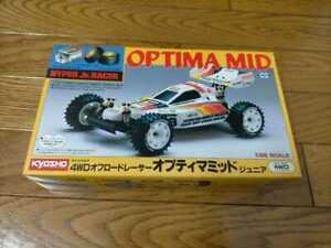 Vintage Marui Kyosho Mini Optima Mid 4wd 1/32 NIB - Rare