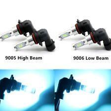 9005+9006 CSP LED Headlights Bulbs 8000k Ice Blue 75W 8000LM Kit High Low Beam