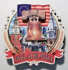 Philadelphia Pennsylvania Montage Artwood Fridge Magnet