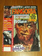 FANGORIA #72 NIGHTMARE ON ELM STREET SLAUGHTERHOUSE WITH POSTER