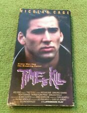 Time To Kill VHS Action Ace Video 1992 Tested Nicolas Cage Rare