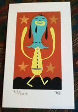 TIM BISKUP 'IPMG #1', 2005 SIGNED Mini Silkscreen Print Limited Edition #33/206