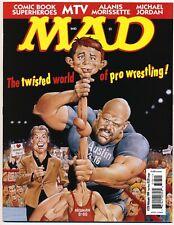 Mad #378 Vf, Comic Book Superheroes, Folded, Ec Comics Magazine 1999