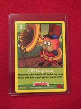 GPK Garbage Pail Kids CCG Game Trading Cards 2 Off Key Lee GPK12 Topps