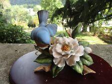 "Vintage Homco Figurine Masterful Porcelain 11273-01 Bluebird ~ 4 1/2"" T"