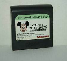 CASTLE OF ILLUSION STARRING MICKEY MOUSE USATO GAMEGEAR JAPAN NTSC/J FR1 44254