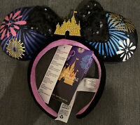 Disney Store Minnie Mouse Main Attraction December Ears Headband December 12/12