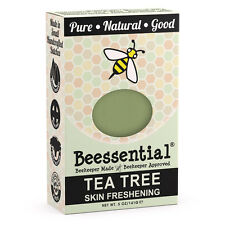 Beessential All Natural Tea Tree Small Batch Bar Soap
