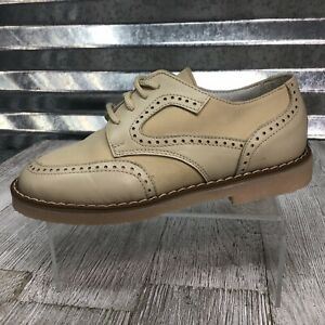Shoe Be Doo Leather Derby Brogue Wing Back Dress Shoe Toddler Shoe Size 11C / 28