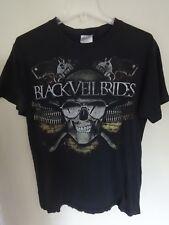 Vintage Black Veil Brides - Tour Band Graphic Printed T-Shirt Men Medium Tee