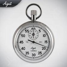 Agat Zlatoust Russe Mécanique Chronomètre avec protection contre les chocs