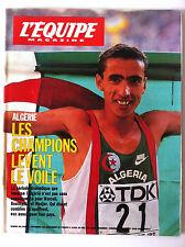 L'Equipe Magazine du 3/09/1994; Algérie; Les champions lèvent le voile/ Popov