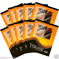 10 Pcs 9 x 12 inch Premium Quality Tracing Paper Pad 30 Sheets