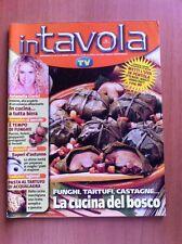 Rivista IN TAVOLA - SORRISI E CANZONI TV - N. 85 Ottobre 2005 Ricette con foto
